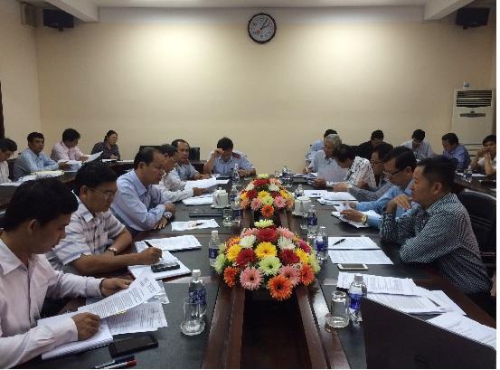 Đoàn công tác Sở Tài nguyên và Môi trường làm việc với UBND huyện Đất Đỏ