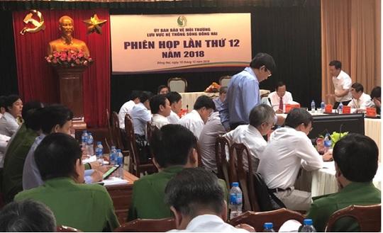 Phiên họp thứ 12 và Lễ chuyển giao chức vụ Chủ tịch Ủy ban Bảo vệ môi trường lưu vực sông Đồng Nai