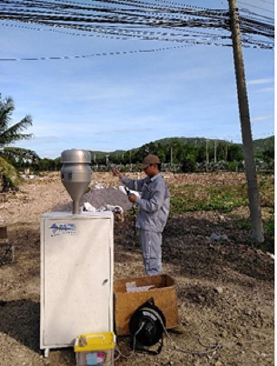 Thực hiện quan trắc hiện trạng môi trường tuần 03 tháng 12trên địa bàn tỉnh Bà Rịa – Vũng theo quyết định 2875/QĐ-UBND ngày 19/10/2016 của UNBD tỉnh