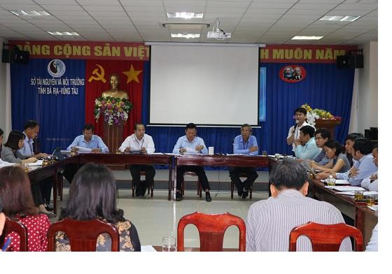 Đồng chí Lê Ngọc Linh Phát biểu ý kiến chỉ đạo